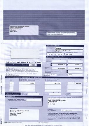 Mailer P60 Peg 08-09