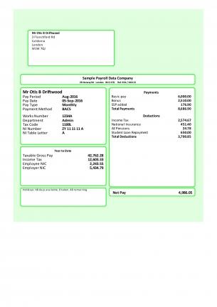 E-payslip Ms-mailer
