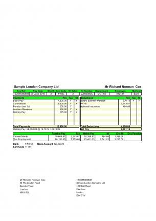 E-premium-mail Padf Green